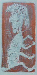 11x21.6 Acrylic on Canvas 1996